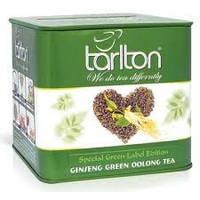 """Зеленый чай ТМ Тарлтон """"Жень Шень Улун"""" ж/б 200 г"""