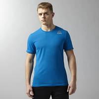 Спортивная футболка Reebok Workout Ready Stacked Logo Supremium AY3502 - 2016/2