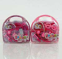 Детский набор доктора для девочки розовый
