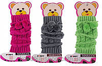 Очень теплые и стильные вязанные детские гетры  MARILYN GETRY A82 PEPPY KIDS