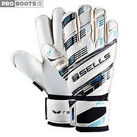 Вратарские перчатки Sells Wrap Aqua Elite GK Gloves White Sky
