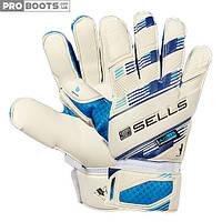 Вратарские перчатки Sells Aqua Pro GK Gloves White Blue