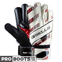 Вратарские перчатки Sells Supersoft 3 GK Gloves White Black