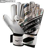 Вратарские перчатки Sells Sells Competition Wrap White Black