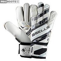 Вратарские перчатки Sells Exosphere GK Gloves White Grey