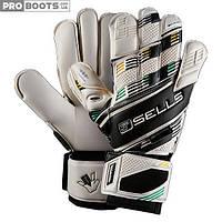 Вратарские перчатки Sells Competition GK Gloves White Black