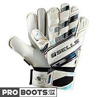 Вратарские перчатки Sells Aqua Elite GK Gloves White