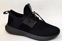 Черные кроссовки 36-41р