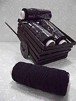 Нитка резинка (черная)