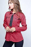 Женская блузка Галстук 6