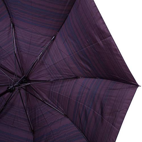 Зонт мужской полуавтомат ZEST (ЗЕСТ) Z42642-1 коричневый, антиветер