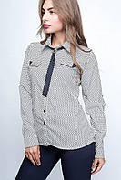Женская блузка Галстук 8
