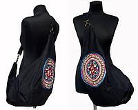 Тканевая сумка-рюкзак на одно плечо