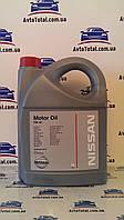 Масло моторное Nissan 5W-40 (KE90090042), 5 литров