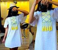 Платье туника вышиванка