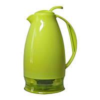 Чайник-термос Mega CLO095PPWB 0.95 л зеленый/серый