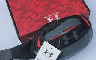 Практичная спортивная сумка на пояс Under Armour Sport Pro 186, черный