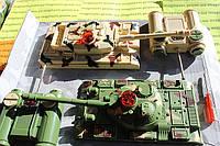"""Купить радиоуправляемые танки 2 в 1 """"Танковый бой"""". (мини формат). Купить два танка"""