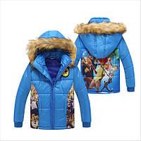Детская зимняя куртка на мальчика - Зверополис