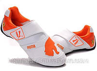 Мужские кроссовки Puma Baylee Future Cat white-orange