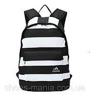 Рюкзак мужской adidas бело-черный