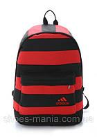 Рюкзак мужской adidas красно-черный