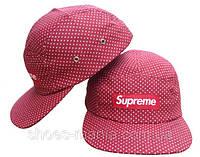 Кепка с прямым козырьком Supreme Snapback pink