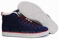 Зимние кроссовки Adidas Ransom High синие
