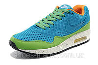 Женские кроссовки  Nike Air Max 87 EM green-blue