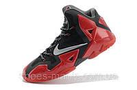 Баскетбольные кроссовки Nike Lebron 11 black-red