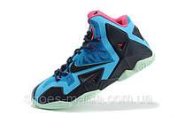 Баскетбольные кроссовки Nike Lebron 11 blue-black