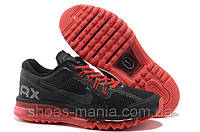 Мужские кроссовки Nike Air Max 2013 black-red AS-10074
