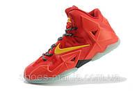 Баскетбольные кроссовки Nike Lebron 11 orange