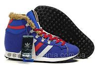 Зимние кроссовки Adidas Chewbacca blue AS-16004
