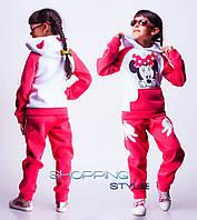 Детский костюм Микки Маус с ушками для девочки