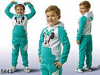 Детский костюм Микки Маус с ушками для мальчика