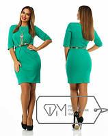 Элегантное платье с украшением 48р