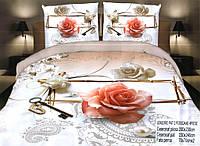 Комплект постельного белья (евро-размер) - № 602