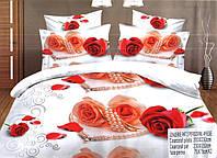 Комплект постельного белья (евро-размер) - № 588