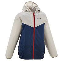 Куртка дождевик для мальчика Quechua Rain cut синяя