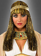 Карнавальный парик для образа Клеопатры
