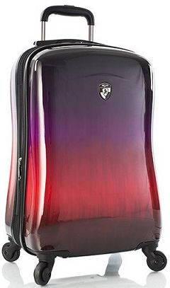 Модный пластиковый 4-колесный чемодан 35 л. Heys Ombre Sunset (S) 923069 разноцветный