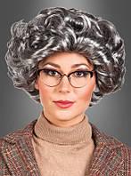 Карнавальный парик волнистистый для образа учительницы