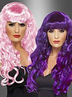 Красивый карнавальный парик для женщин