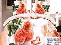 Комплект постельного белья (евро-размер) - № 586