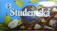 Шоколад ORION Studentska Pecet молочный с грушей 180г.