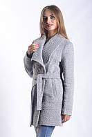 Женское Пальто П-018 Серый
