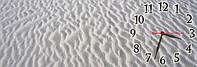 Песок часы настенные 30*90 см фотопечать