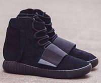 Кроссовки мужские Adidas Yeezy 750 Boost  By Kanye West Allblack