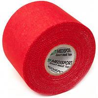 Medisport Спортивный тейп Medisport 5см х 10м (красный)